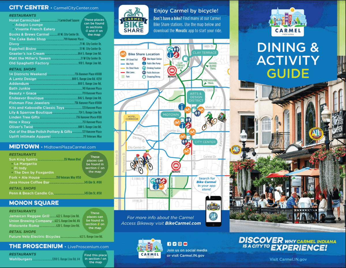 Click to download the Carmel Dining and Activity Guide